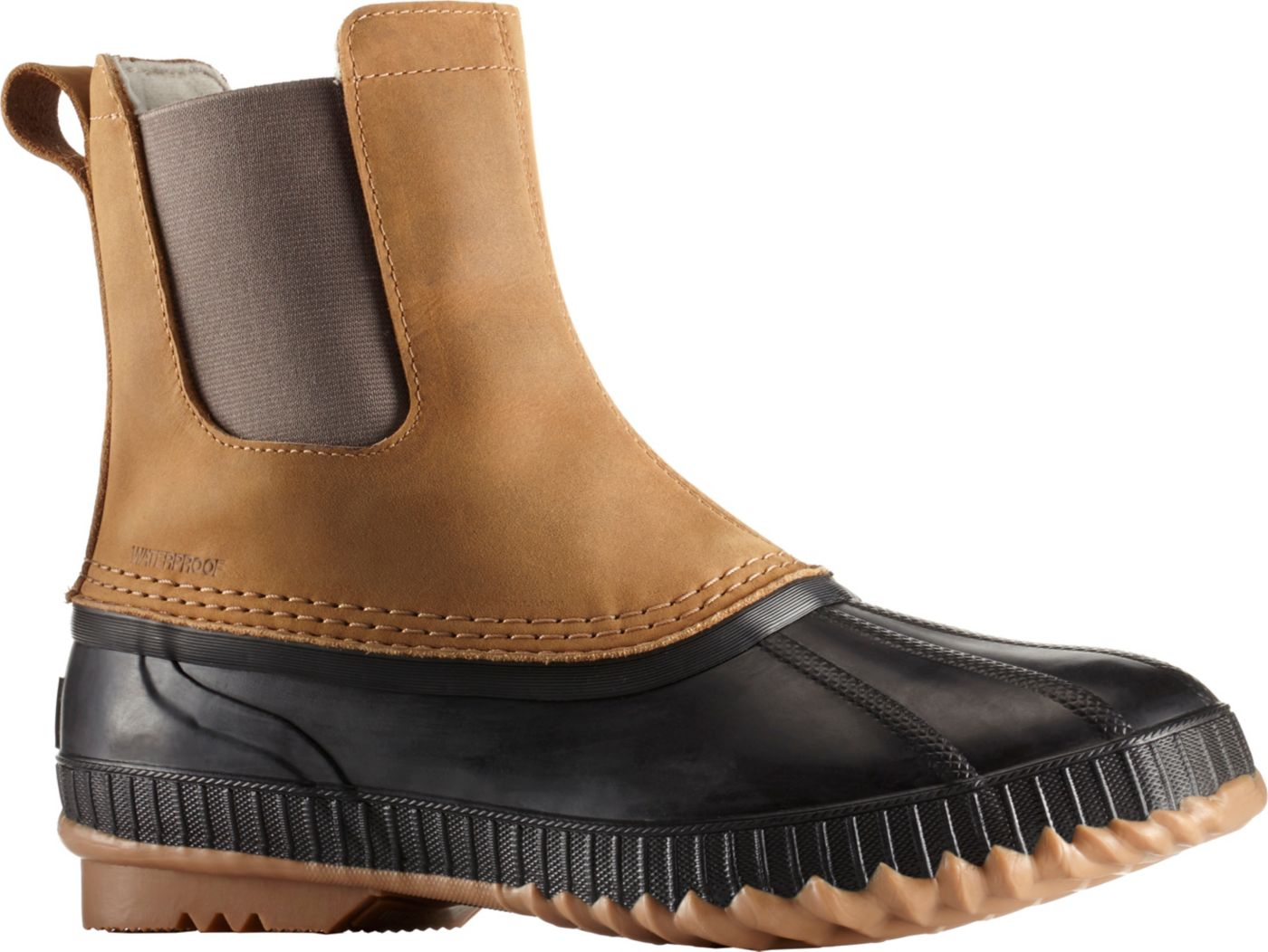 SOREL Men's Cheyanne II Chelsea 200g Waterproof Winter Boots