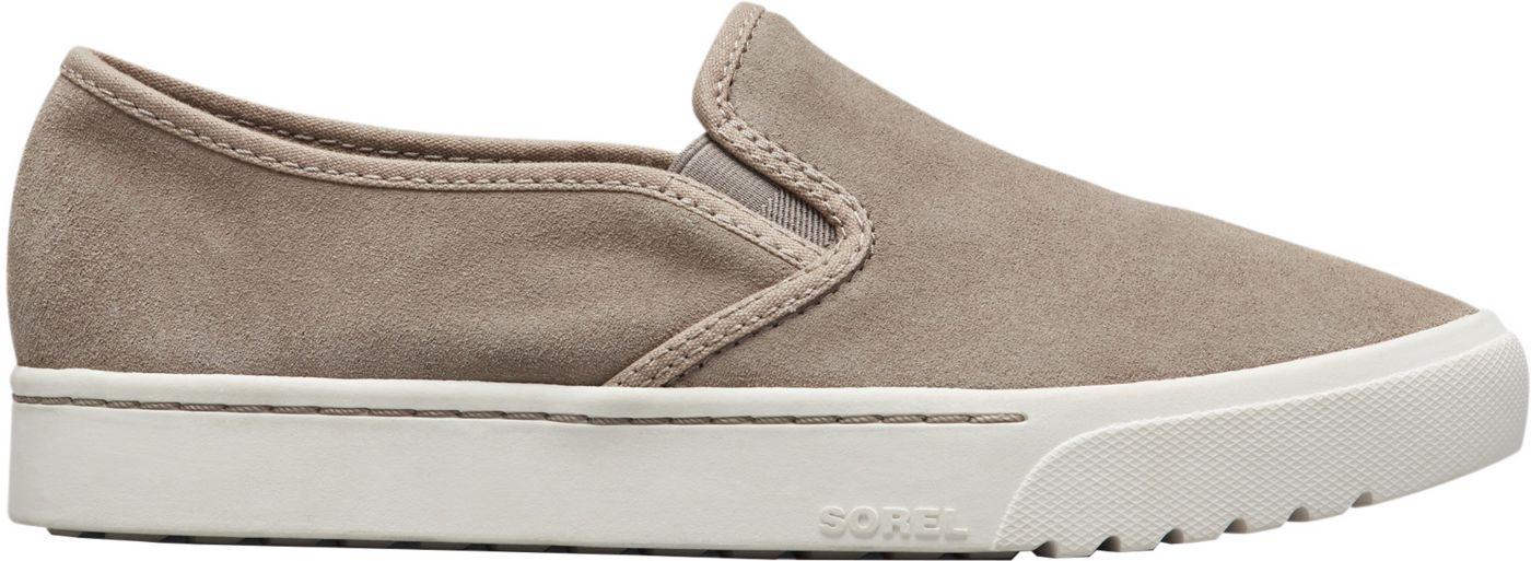 SOREL Women's Campsneak Slip-On Casual Shoes