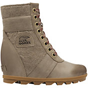 SOREL Women's Lexie Wedge Casual Boots