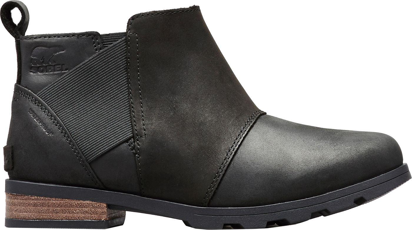SOREL Women's Emelie Chelsea Waterproof Casual Boots