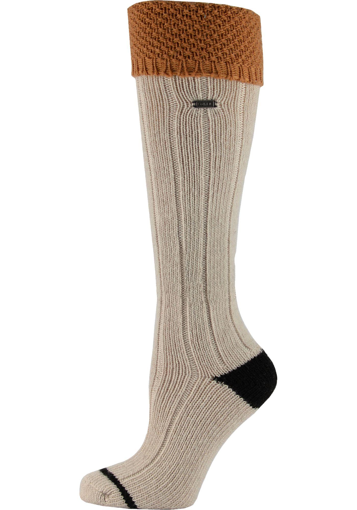 Sorel Women's Wool Turn Over Cuff Over the Calf Socks