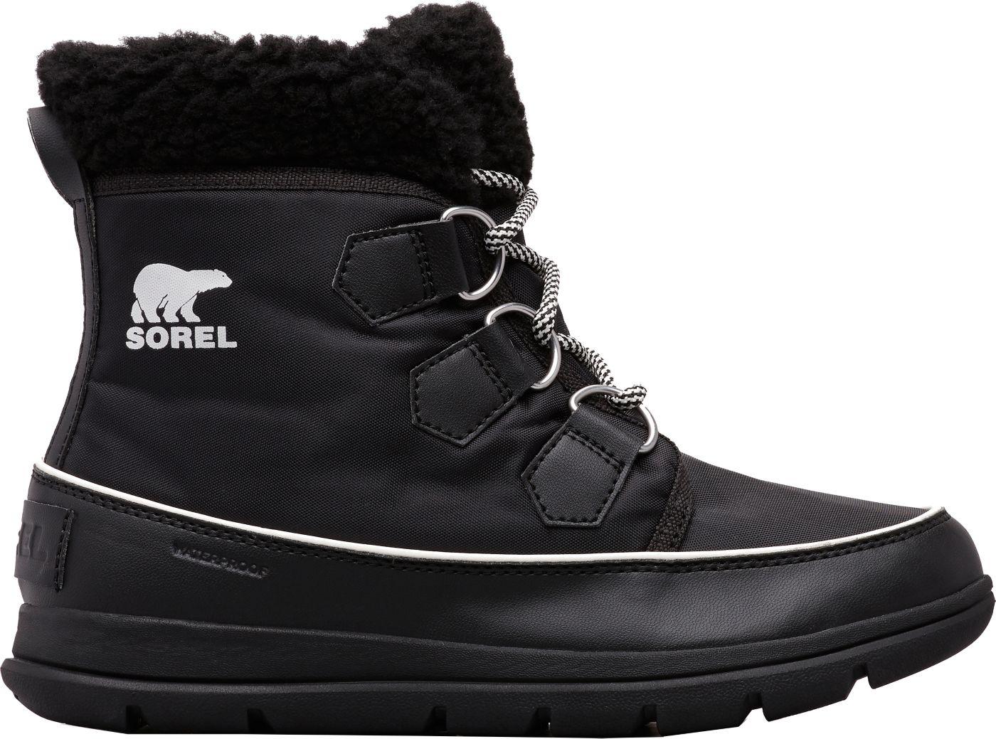 SOREL Women's Explorer Carnival 100g Waterproof Winter Boots