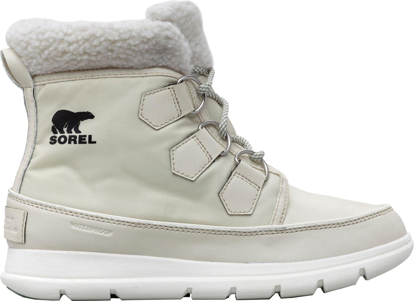 SOREL Women's Explorer Carnival Waterproof 100g Winter Boots