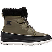 SOREL Women's Explorer Carnival Waterproof 100g Winter Boors