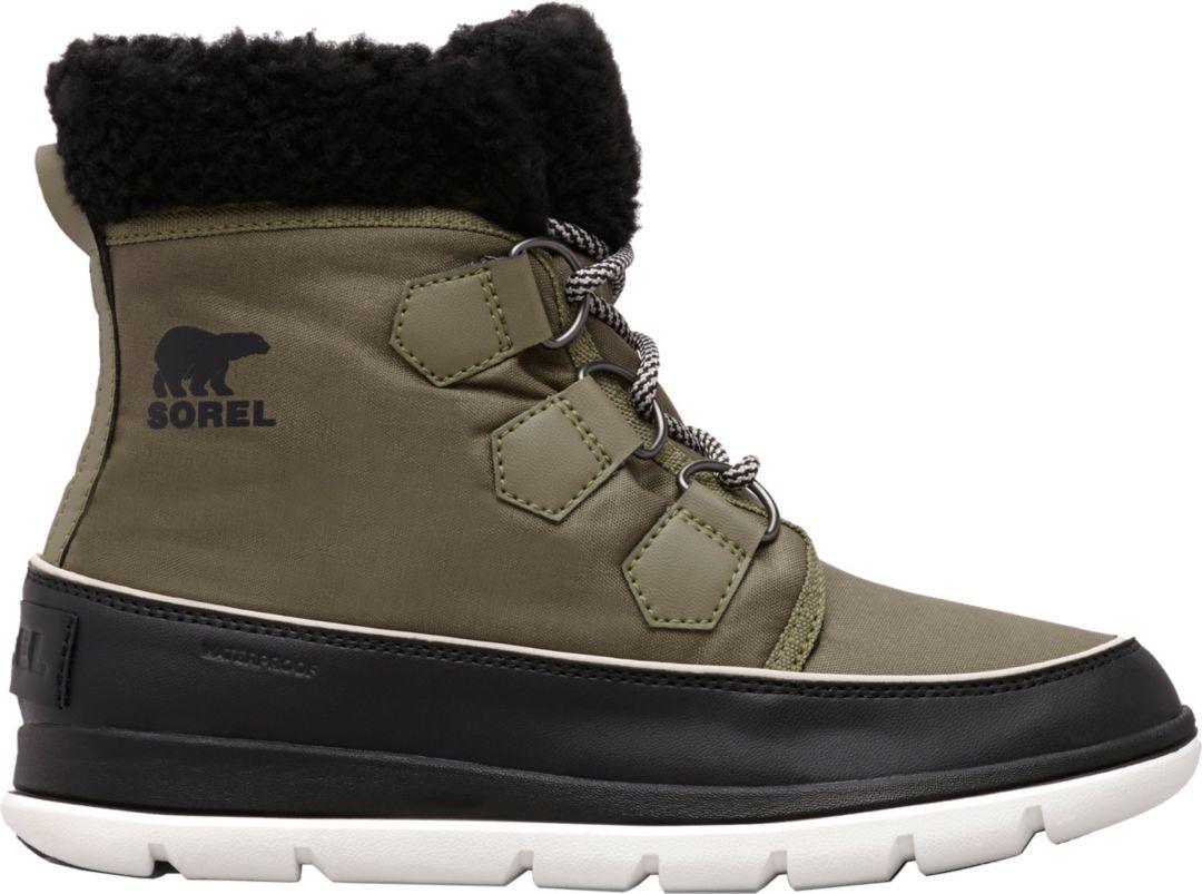 c7dbc010557 SOREL Women's Explorer Carnival 100g Waterproof Winter Boots