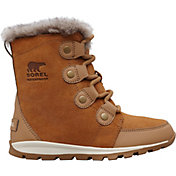 SOREL Kids' Whitney Suede 200g Waterproof Winter Boots