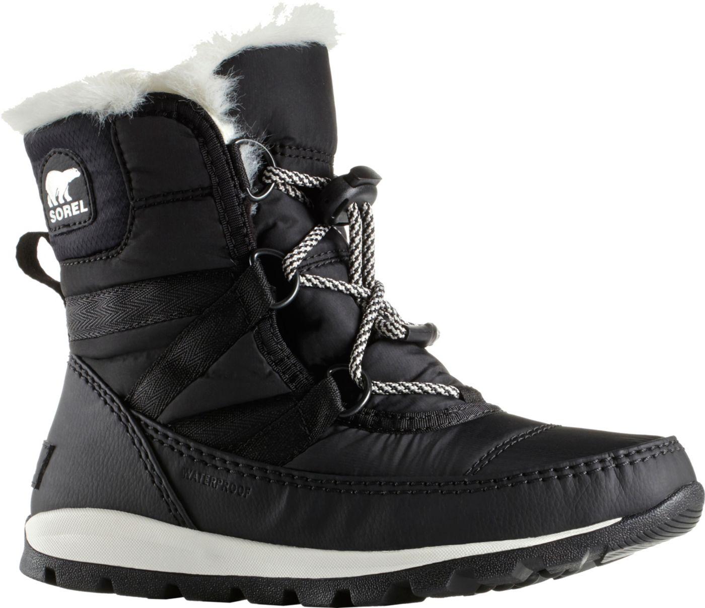 SOREL Kids' Whitney Short 200g Waterproof Winter Boots