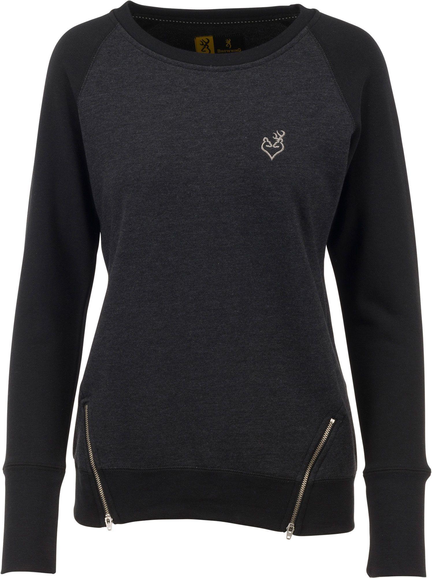 Browning Women's Cassia Sweatshirt, Size: Medium, Black thumbnail