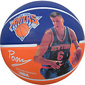 Spalding New York Knicks Kristaps Porzingis Player Basketball