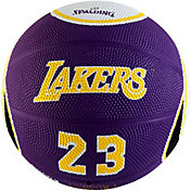 Spalding Los Angeles Lakers LeBron James Purple Mini Basketball