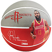 Spalding Houston Rockets James Harden Player Basketball