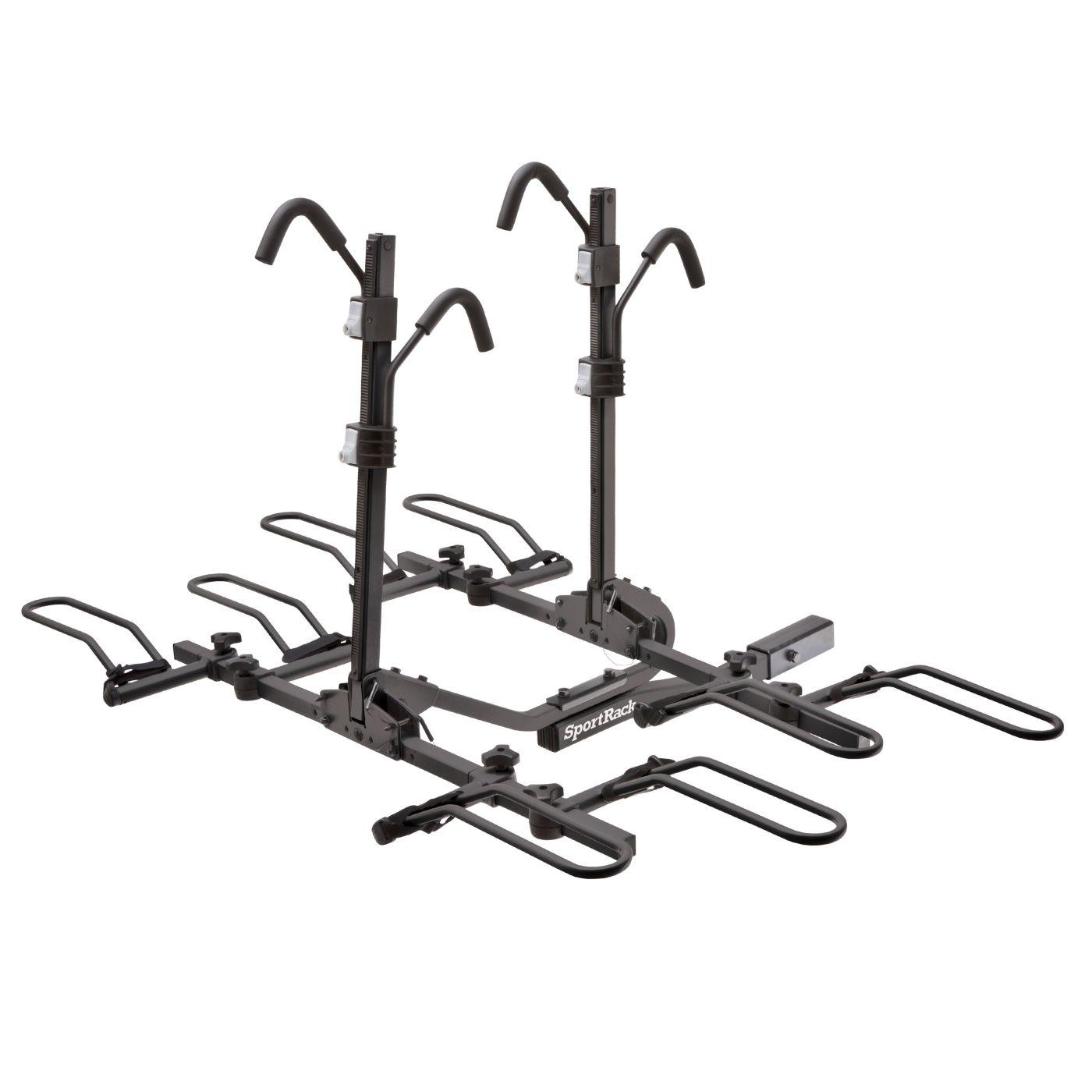 SportRack Crest 4 Deluxe Locking Hitch Mount 4-Bike Rack