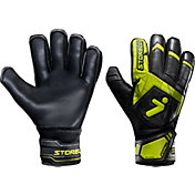Storelli Adult Gladiator 2.0 Challenger Finger Spine Soccer Goalkeeper Gloves