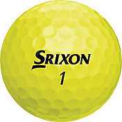 Srixon 2018 Q-STAR 4 Yellow Golf Balls