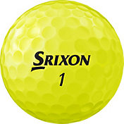 Srixon 2018 Q-STAR TOUR 2 Yellow Golf Balls