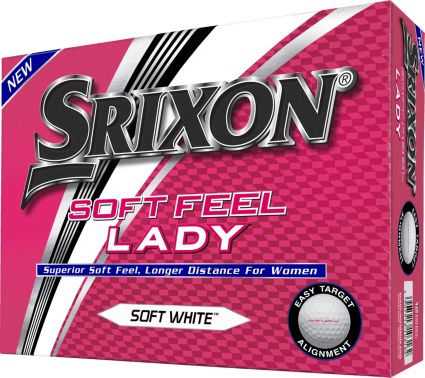 Srixon 2018 Soft Feel Lady 6 Golf Balls