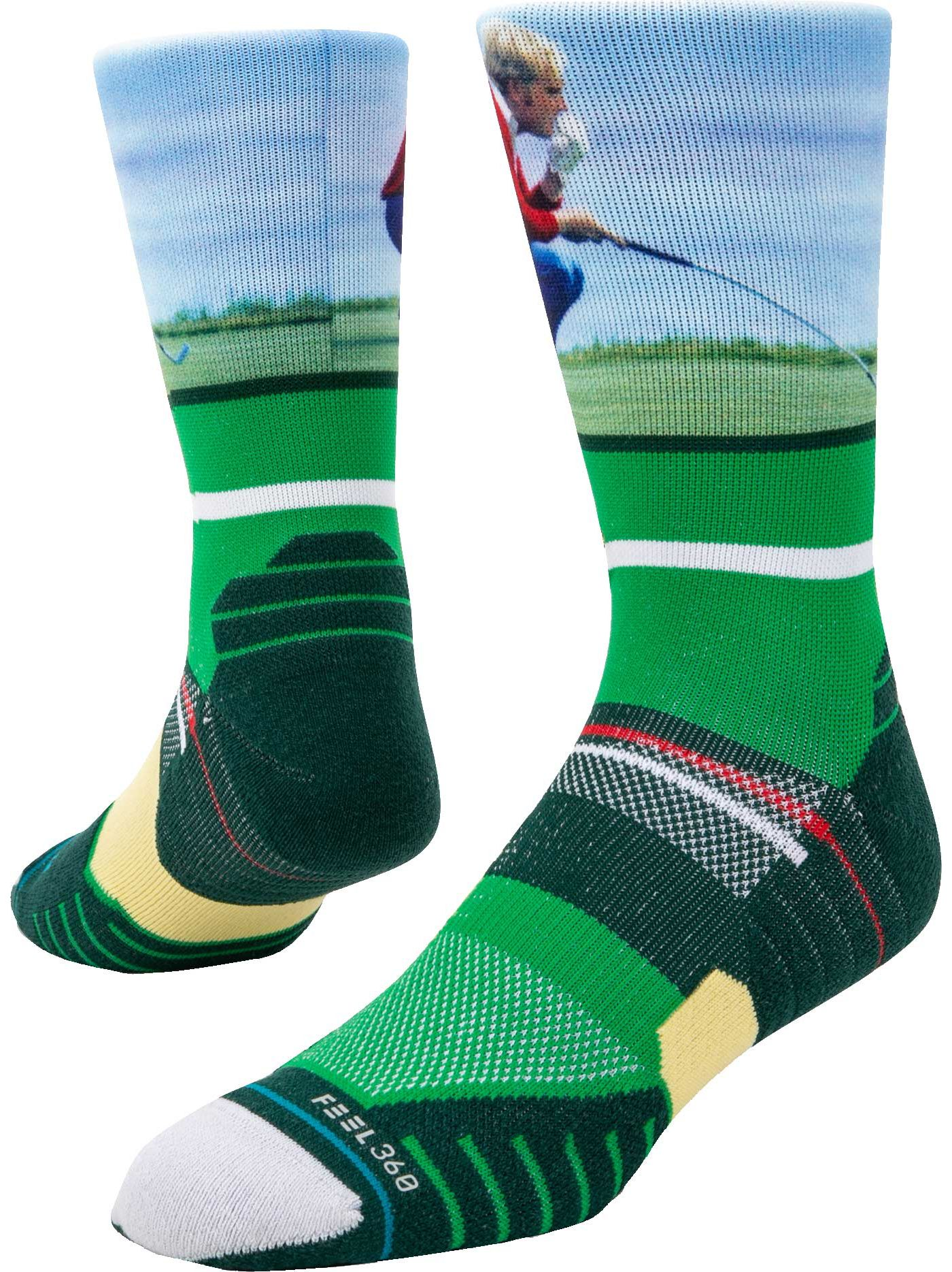 Stance Men's Jack Nicklaus Crew Socks