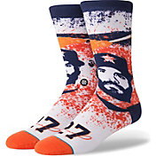 Stance Houston Astros Jose Altuve Splatter Crew Socks