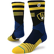 Stance Milwaukee Brewers Diamond Pro Crew Socks