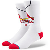 Stance St. Louis Cardinals Home Crew Socks