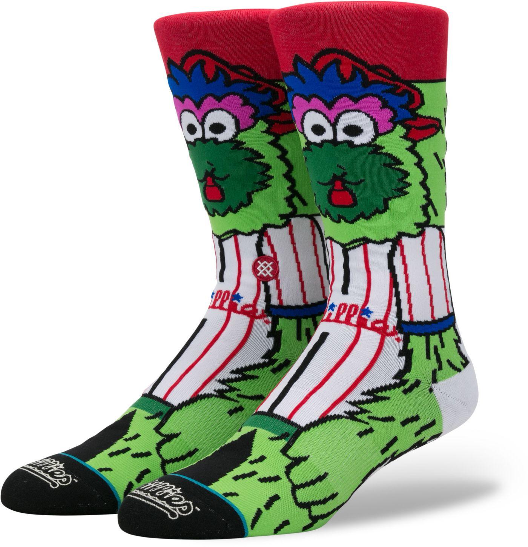 Stance Philadelphia Phillies Mascot Crew Socks