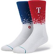Stance Texas Rangers Fade Crew Socks