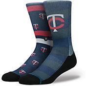Stance Minnesota Twins Splatter Crew Socks
