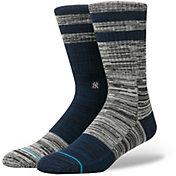 Stance New York Yankees Greystone Crew Socks