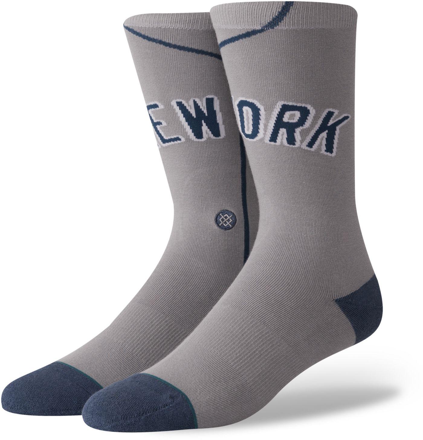 Stance New York Yankees Away Jersey Crew Socks