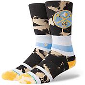 Stance Denver Nuggets Acid Wash Crew Socks