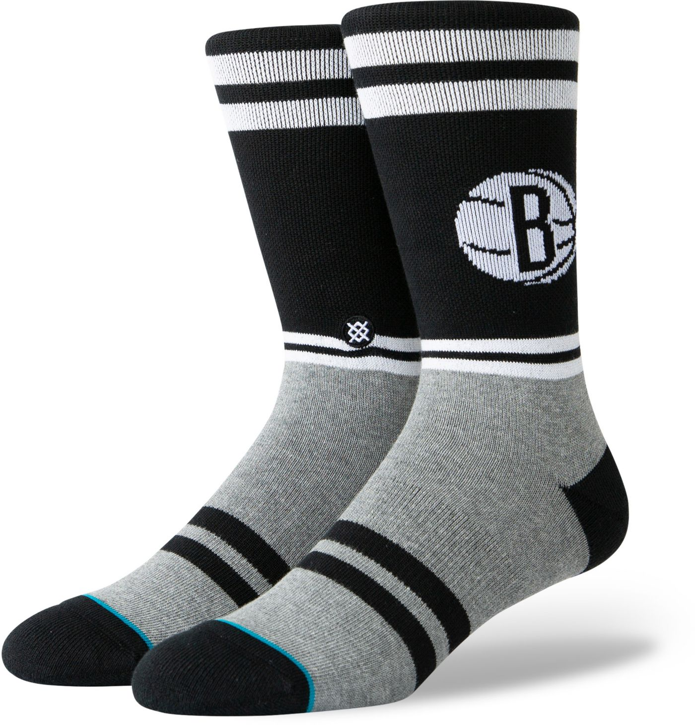 Stance Brooklyn Nets City Gym Crew Socks