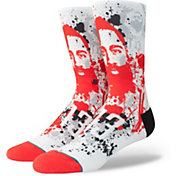 Stance Houston Rockets James Harden Splatter Crew Socks