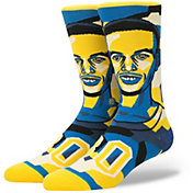 Stance Golden State Warriors Allen Iverson Mosaic Crew Socks