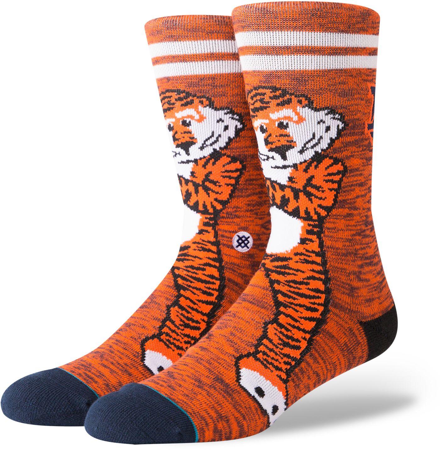 Stance Men's Auburn Tigers Character Crew Socks