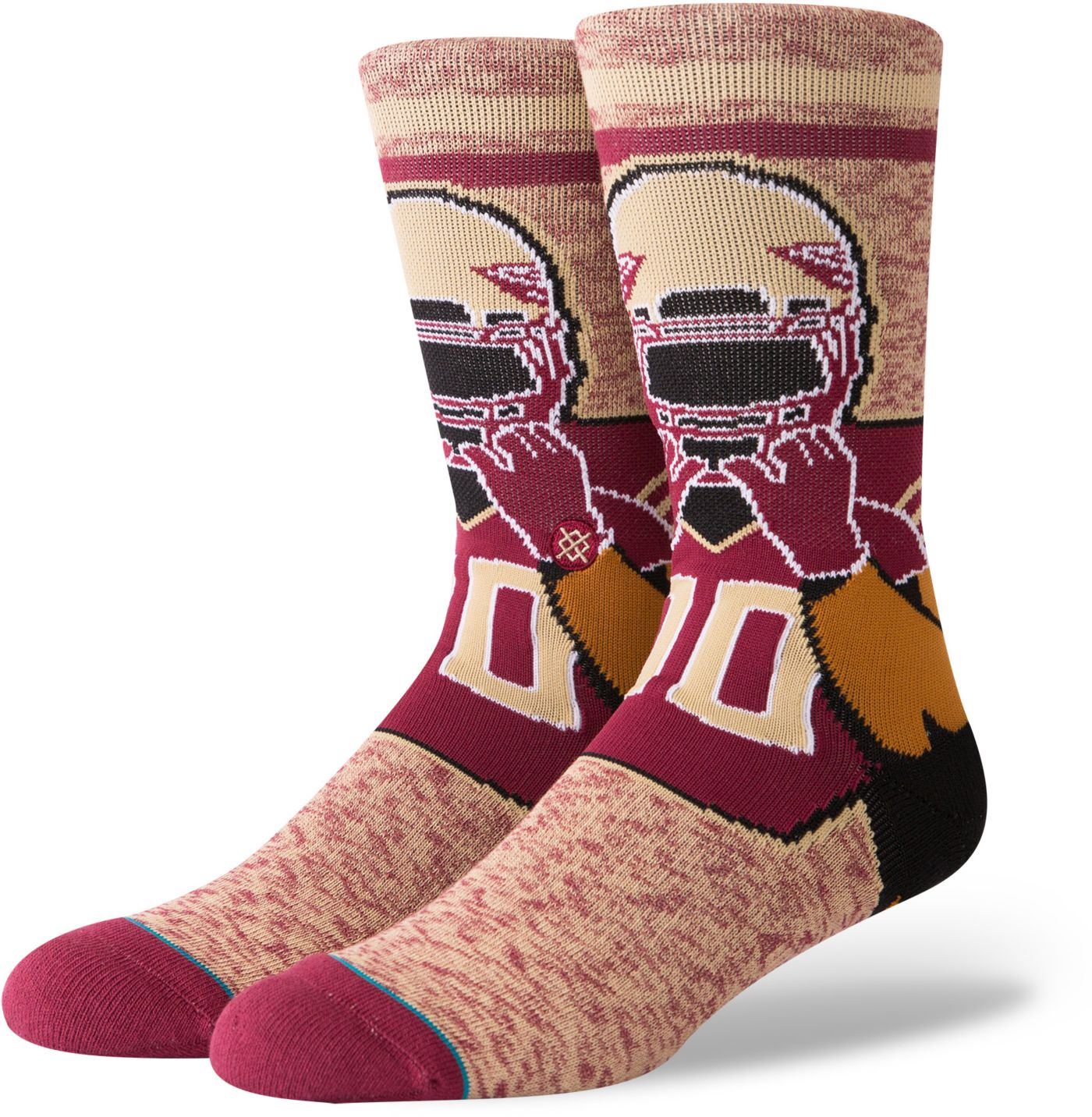 Stance Men's Florida State Seminoles Character Crew Socks