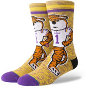 Stance LSU Tigers Character Crew Socks