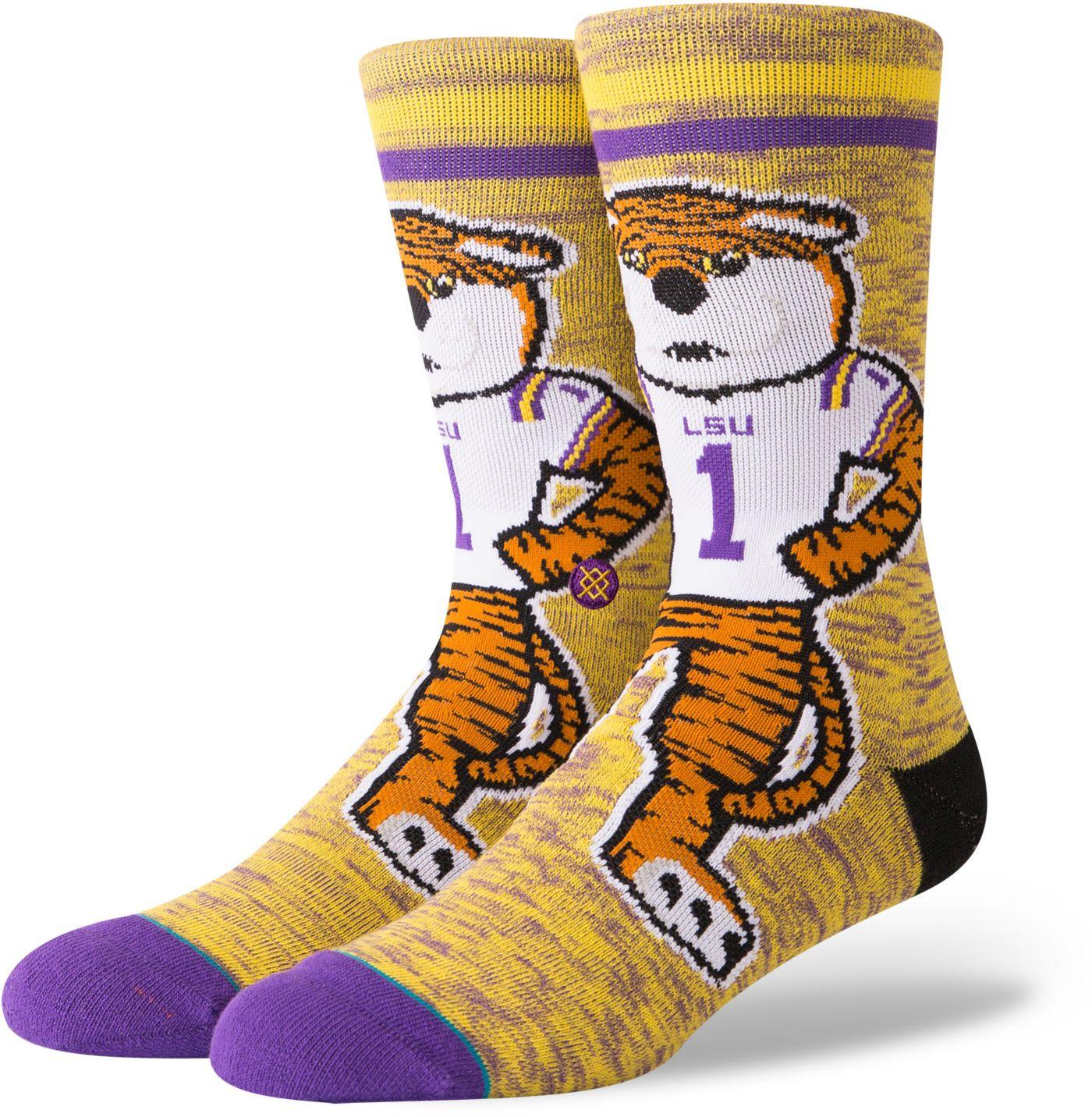 Stance Men's LSU Tigers Character Crew Socks