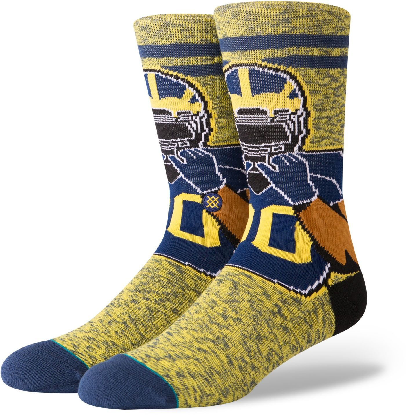 Stance Michigan Wolverines Character Crew Socks