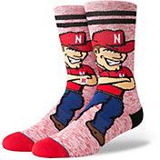 Stance Nebraska Cornhuskers Character Crew Socks