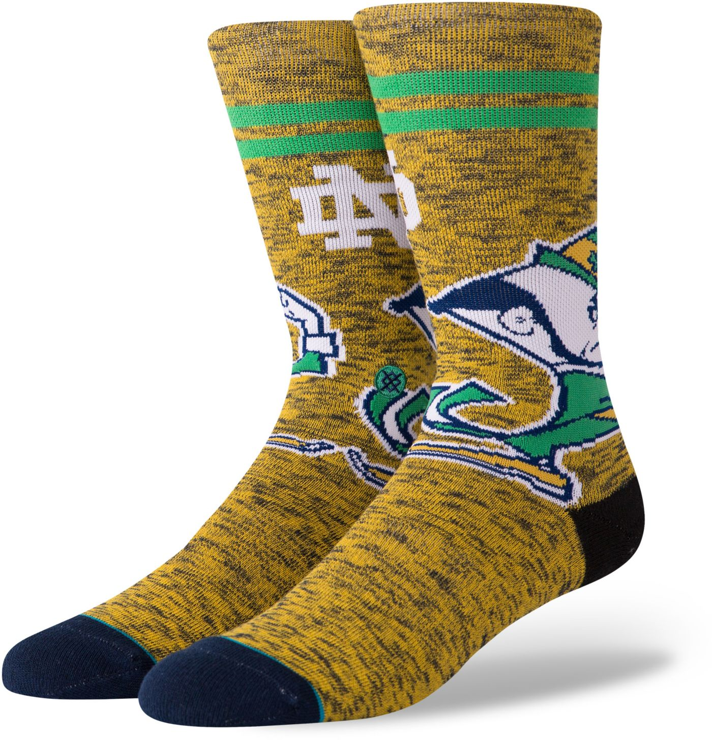 Stance Men's Notre Dame Fighting Irish Character Crew Socks