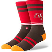 Stance Men's Tampa Bay Buccaneers Logo Crew Socks