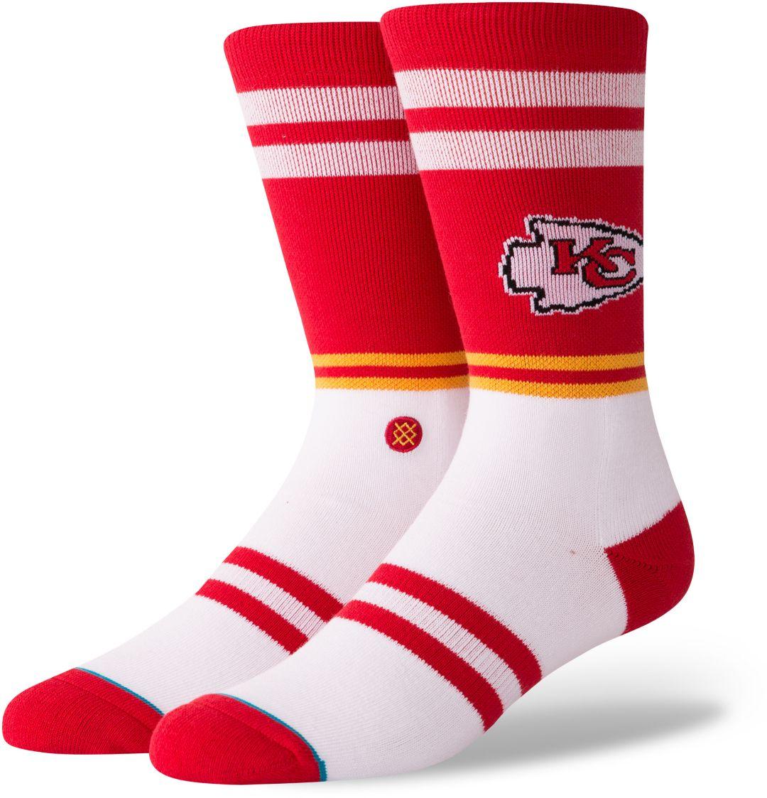 bcbdfe14 Stance Men's Kansas City Chiefs Logo Crew Socks