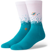 Stance Miami Dolphins Training 360 Crew Socks