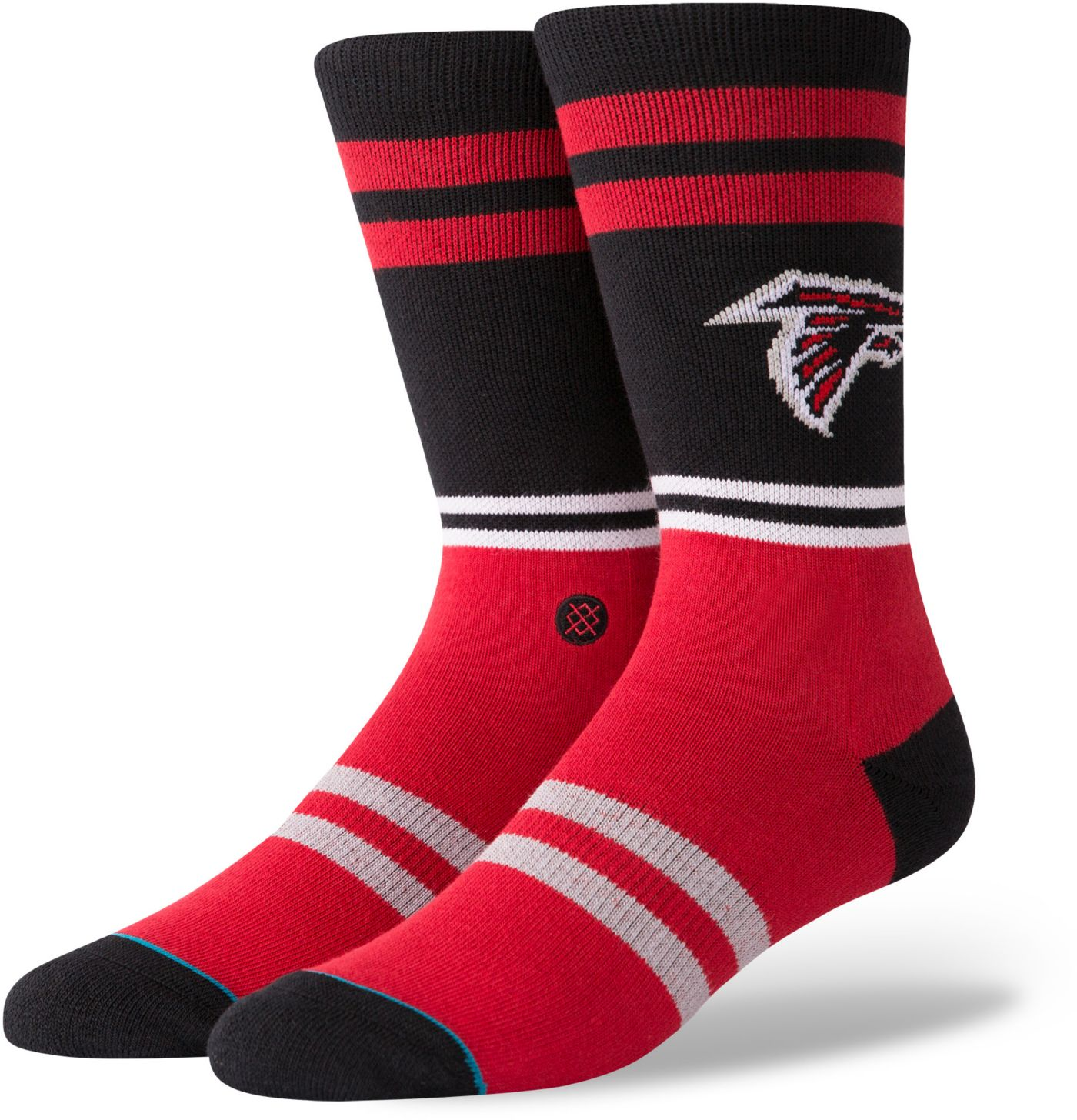 Stance Men's Atlanta Falcons Logo Crew Socks