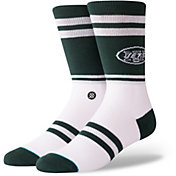 Stance New York Jets Logo Crew Socks