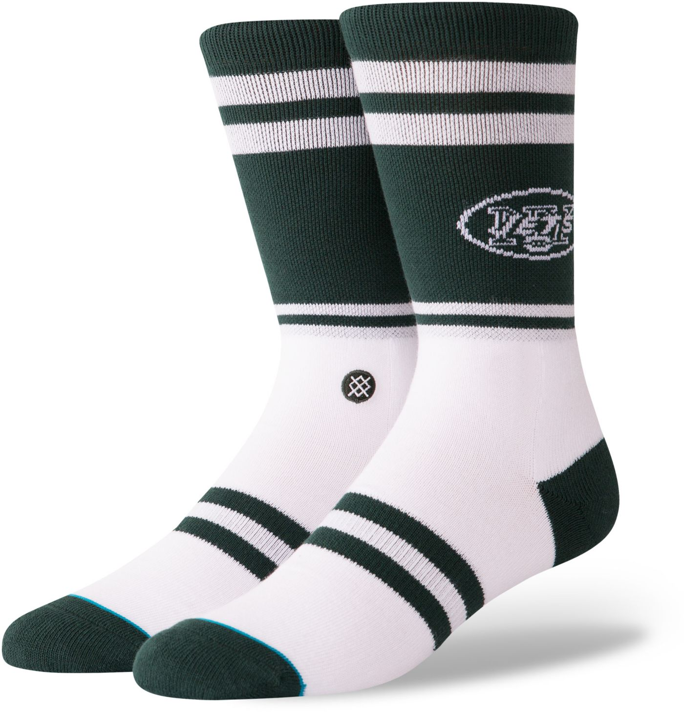 Stance Men's New York Jets Logo Crew Socks