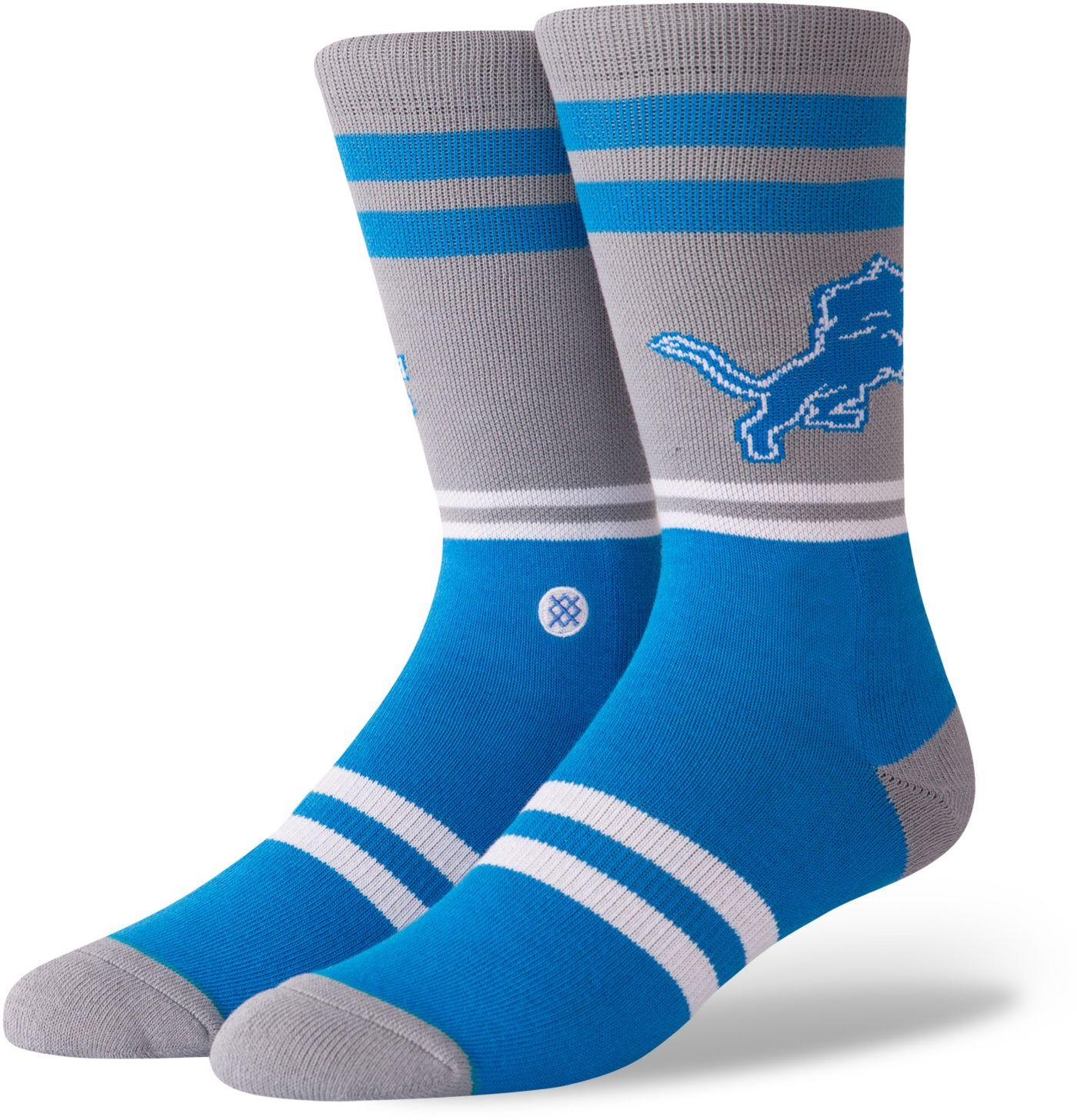 Stance Men's Detroit Lions Logo Crew Socks