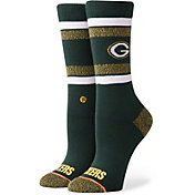 Stance Green Bay Packers Light Crew Socks