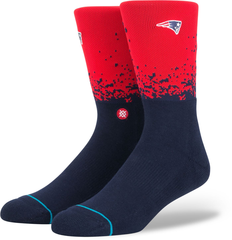 Stance Men's New England Patriots Training 360 Crew Socks