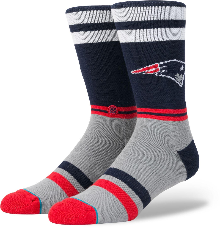Stance Men's New England Patriots Logo Crew Socks